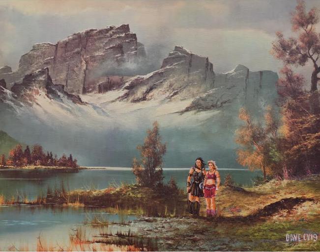 Художник добавляет элементы фантастических фильмов назаурядные пейзажи   Канобу - Изображение 4128