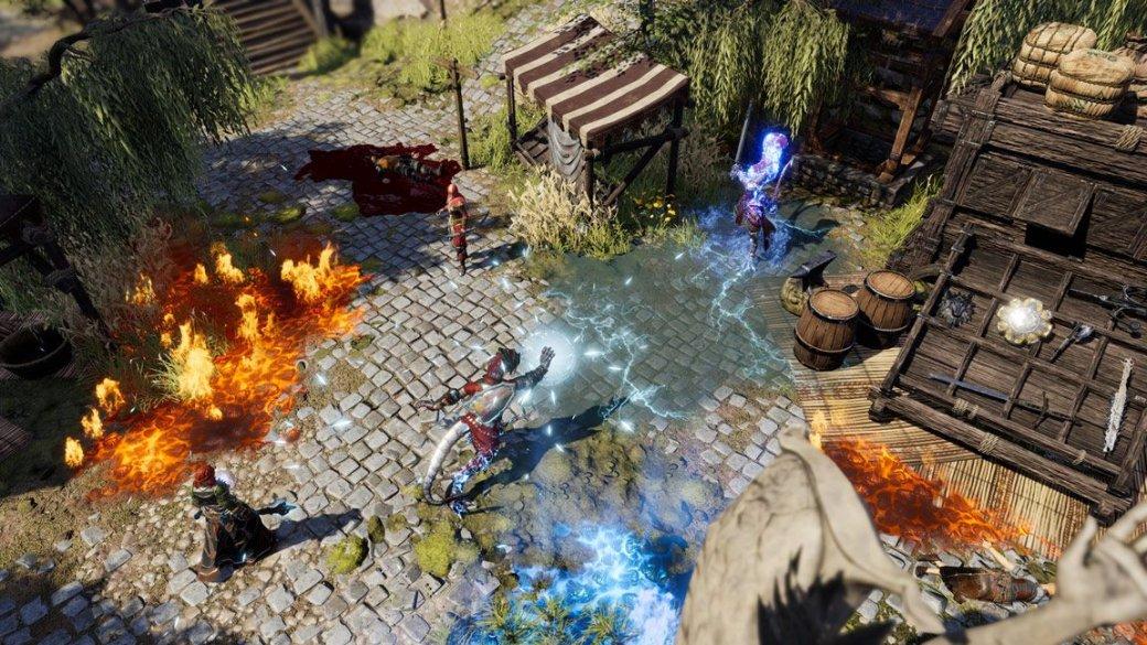 На сайте Larian появился тизер новой игры. Это Divinity 3 или Baldur's Gate 3? | Канобу - Изображение 0