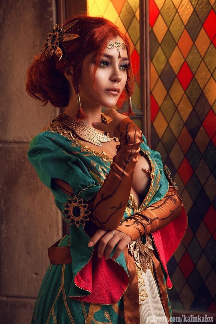 Соблазнительная иочаровательная Трисс Меригольд вновом косплее «Ведьмака» | Канобу - Изображение 1422