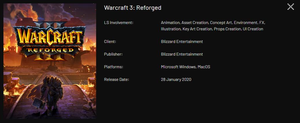 Значительную часть работы над Warcraft III: Reforged выполнила сторонняя студия | Канобу - Изображение 0