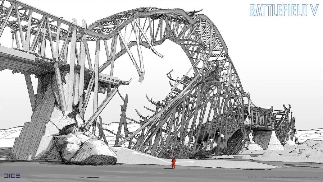 Взгляните на атмосферные концепт-арты и иллюстрации по Battlefield V   Канобу - Изображение 258