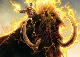 Как появился самый первый Призрачный гонщик вкомиксах Marvel? Онжил замиллион лет донашейэры!