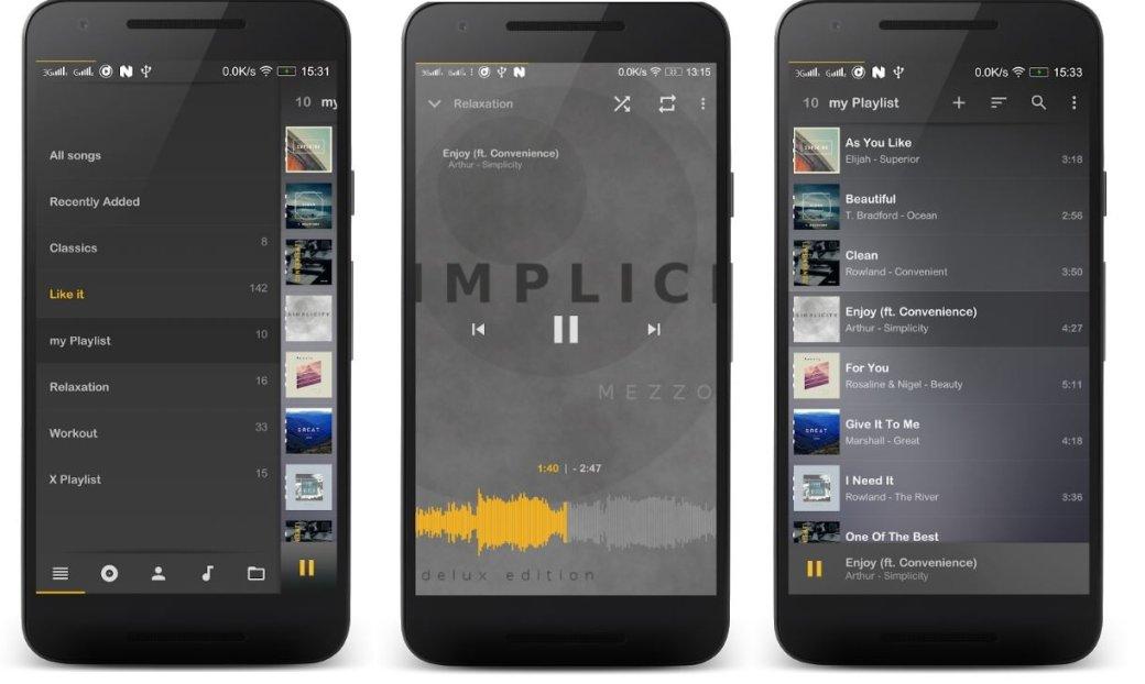 Аудиоплееры для Android - лучшие музыкальные плееры, бесплатные приложения для прослушивания музыки   Канобу - Изображение 4553