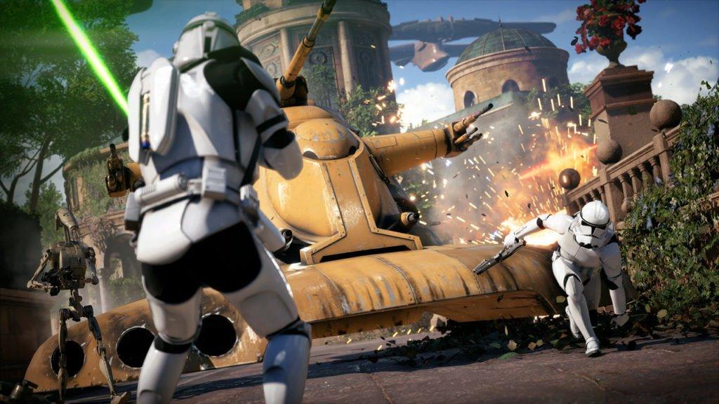 Эксперты Digital Foundry оценили космические красоты Battlefront IIнаконсолях. - Изображение 1