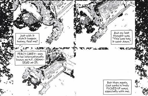 Комиксы: Sentences: The Life Of MF Grimm | Канобу - Изображение 2