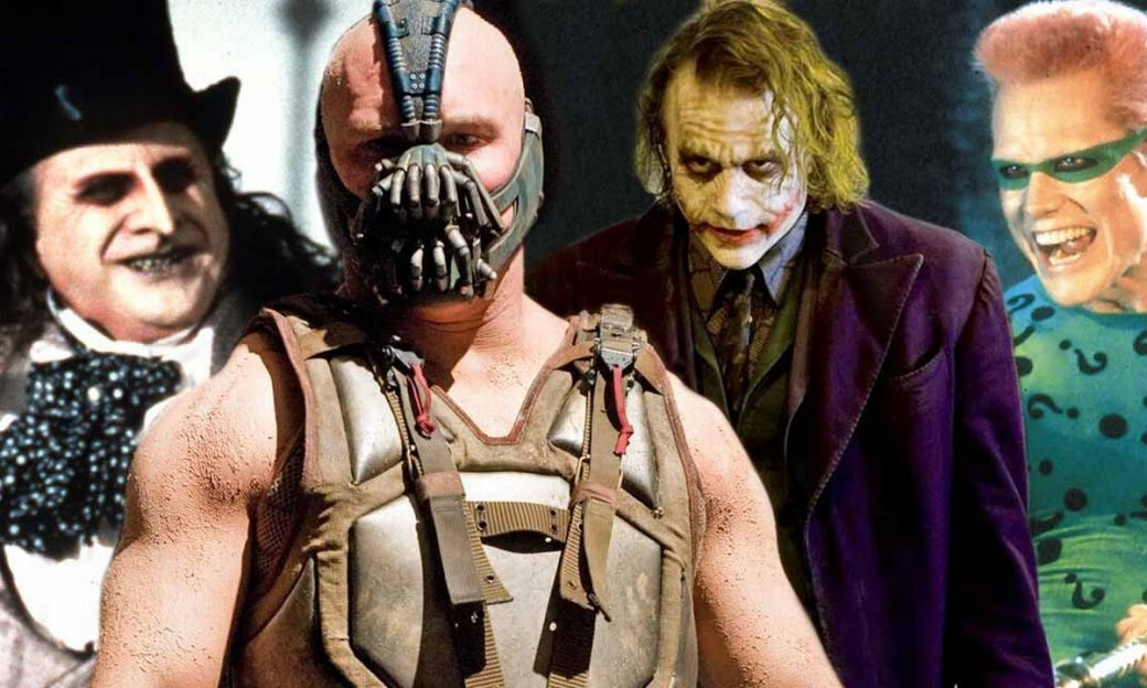 Тест. Кто ты из кинозлодеев Бэтмена?