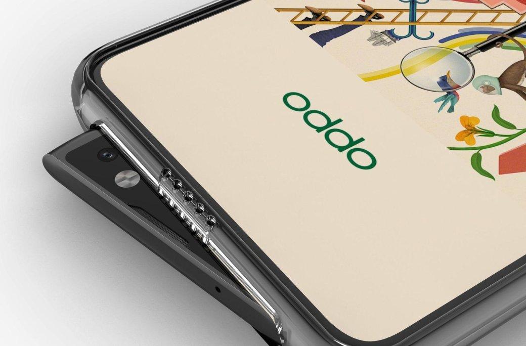 Это странно: опубликованы рендеры смартфона Oppo Reno сбоковой выдвижной селфи-камерой | Канобу - Изображение 0