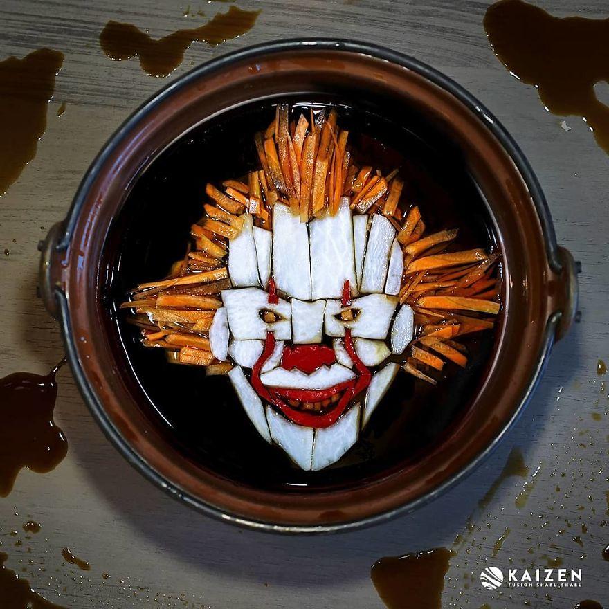 Художница сделала портреты монстров из ужасов из обычной еды   Канобу - Изображение 3735