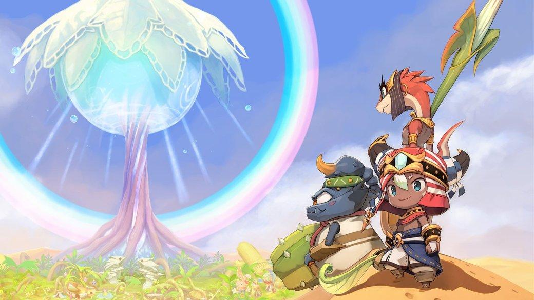 Nintendo анонсировала новую RPG Ever Oasis про планету-пустыню   Канобу - Изображение 2124
