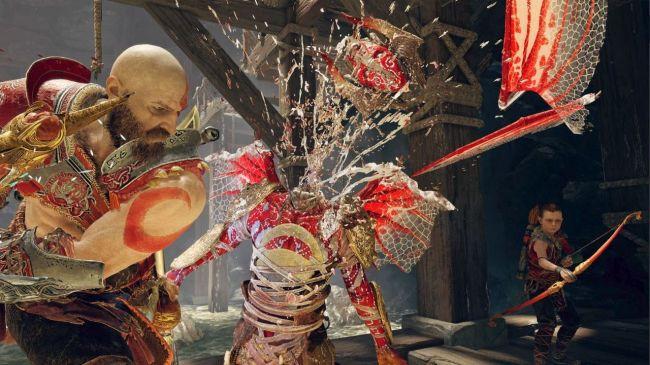 Лучшие (и просто смешные) скриншоты God of War при помощи нового фотомода. - Изображение 10