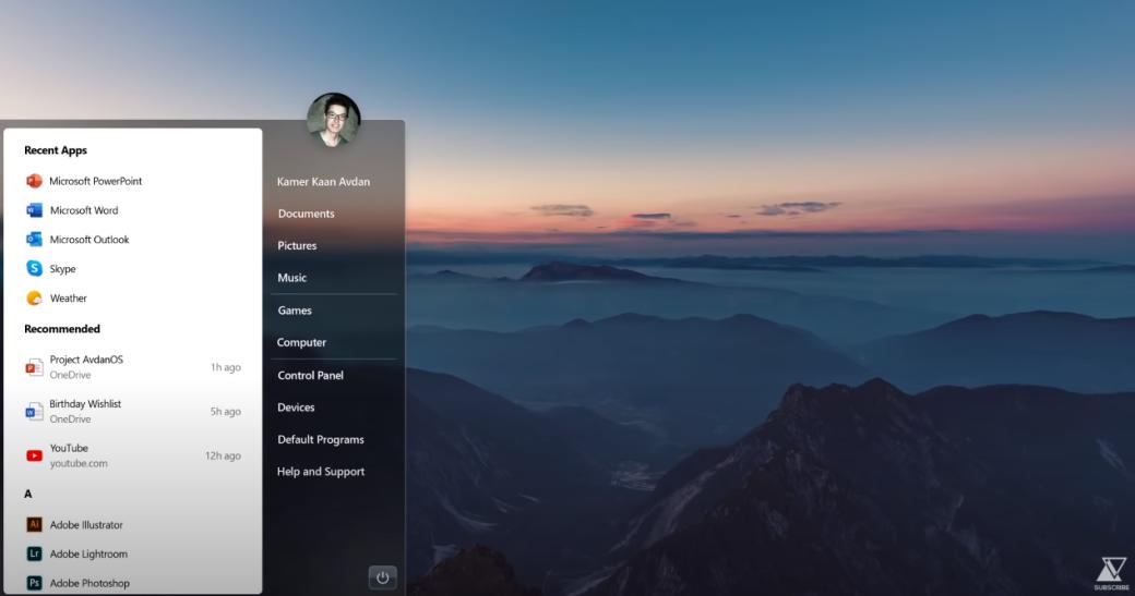 Галерея дня: дизайн Windows 7, еслибы она вышла в2020 году | Канобу - Изображение 7407