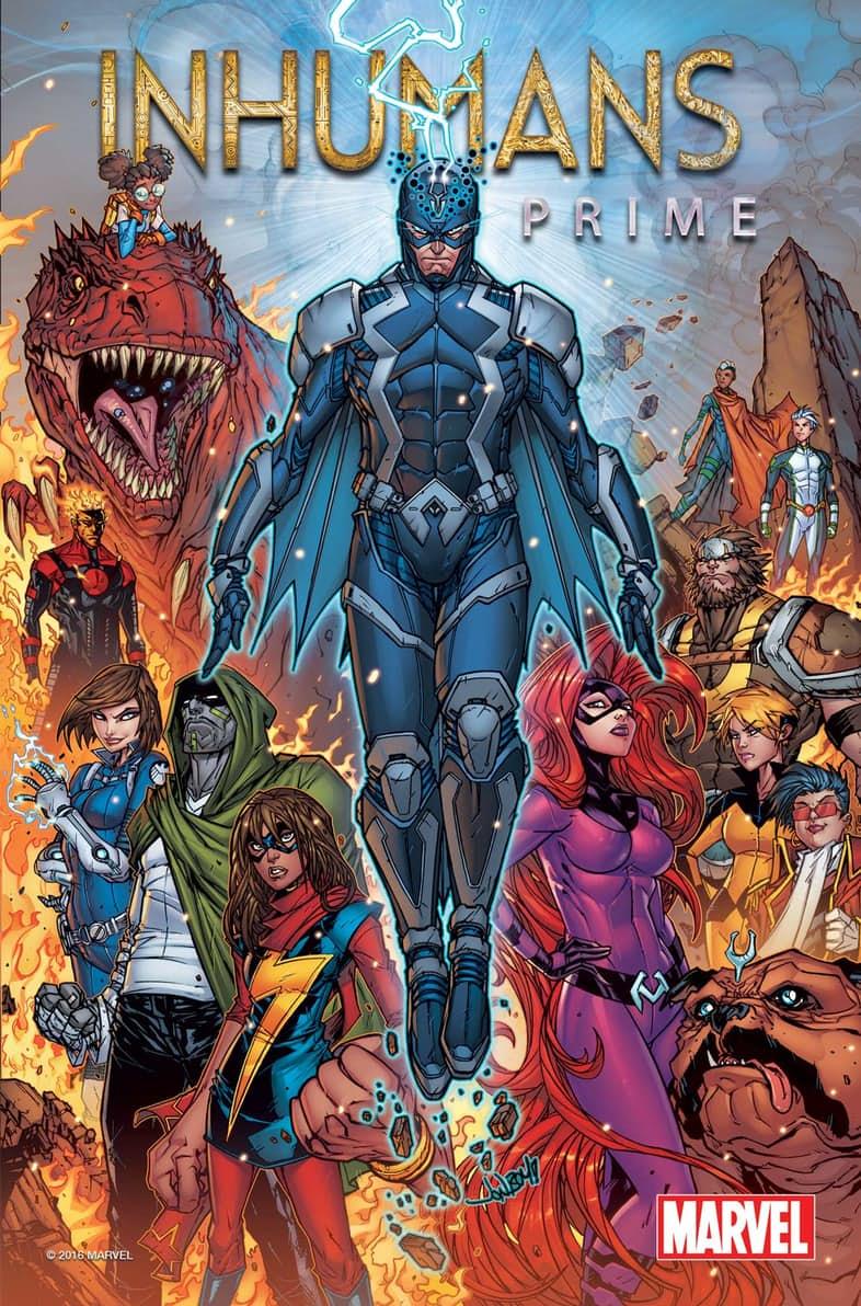 В марте у Marvel выйдет комикс, который определит будущее Нелюдей   Канобу - Изображение 8348